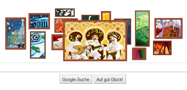 Google Holiday Logo 2010 Oud